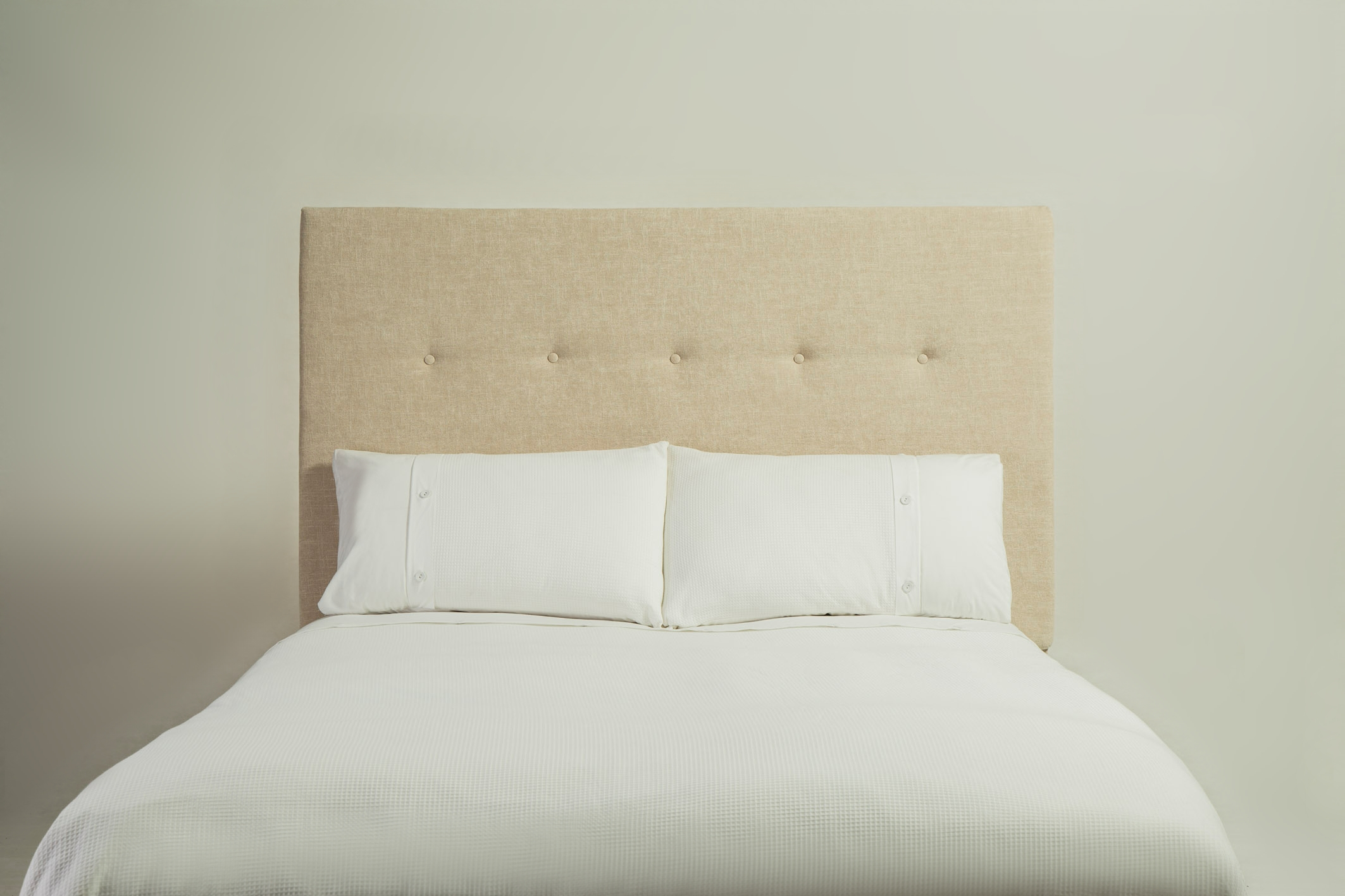 Simple buttoned headboard for Simple headboards