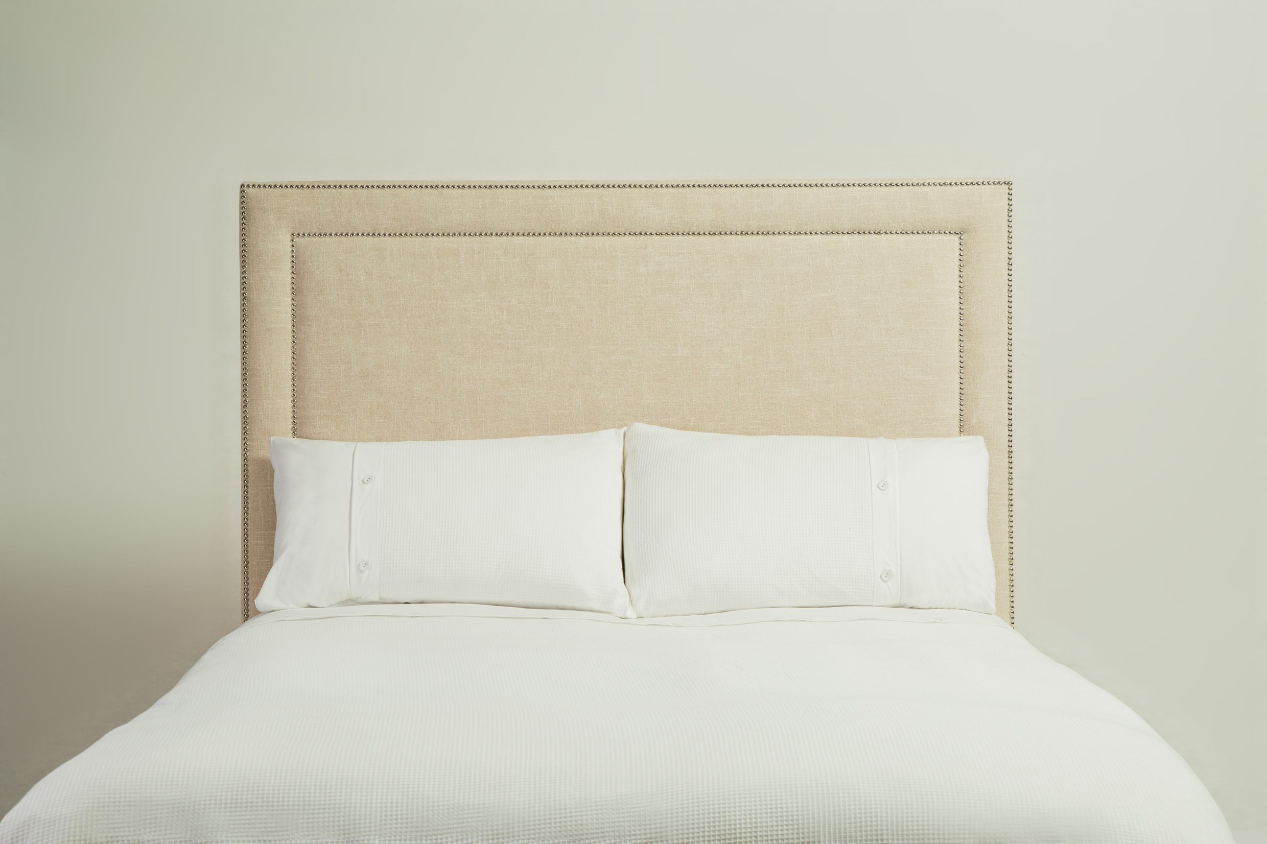 Simple deco trim headboard for Simple headboards