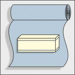 Regular, cut up the roll
