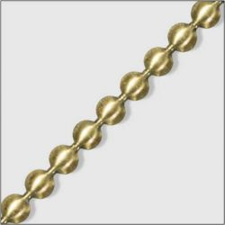 Trim 7 - 9.5mm Antique Brass