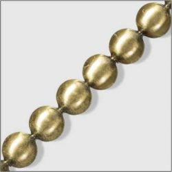 Trim 8 - 16mm Antique Brass